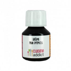 Arôme Alimentaire Pain d'Épices 58 ml Cuisineaddict