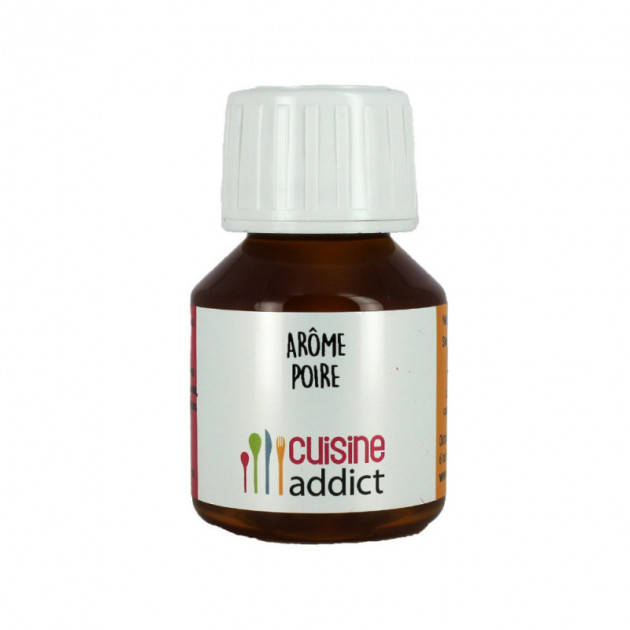 Arôme Alimentaire Naturel Poire 58 ml Cuisineaddict