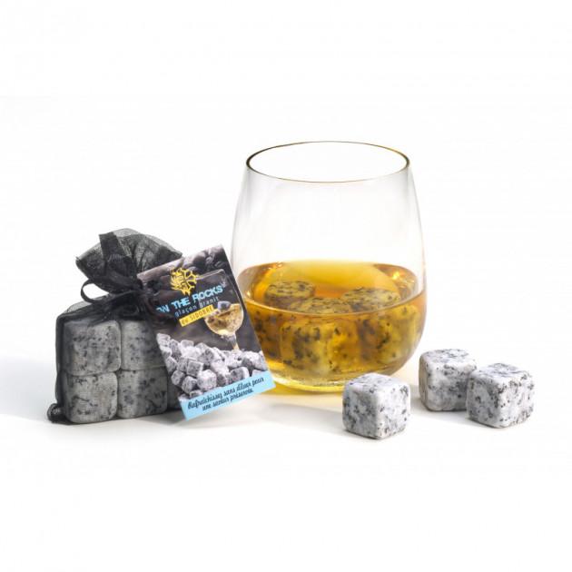 Sachet de pierre a vin. Glaçon en granit