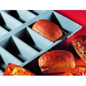 Elastomoule à Cake - 9 empreintes 30 x 17,6 cm - Silicone de Buyer