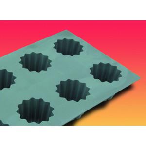 Elastomoule à Cannelé - 8 empreintes 30 x 17,6 cm - Silicone de Buyer