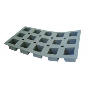 Elastomoule mini-Cube - 15 empreintes 29,5 x 17,5 cm - Silicone de Buyer