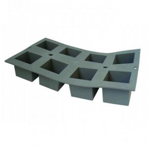 Elastomoule mini-Cube - 8 empreintes 30 x 17,6 cm - Silicone de Buyer