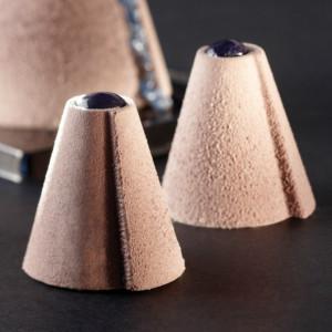 54 Mini-Cônes Pavoflex - Moule silicone 60 x 40 cm