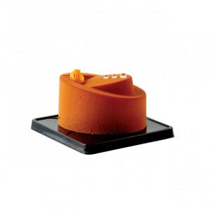 Moule Silicone Ovale Incliné 7,2 x 5,2 cm x H 4,4 cm (x24) Pavoflex
