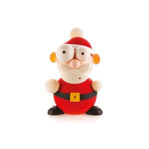Kit Moules Chocolat Père Noël en PVC 18,8 cm x H 24,8 cm (x5) Silikomart Professional