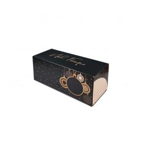 Boîte à Bûche 50x11cm Noël Féerique (x25)
