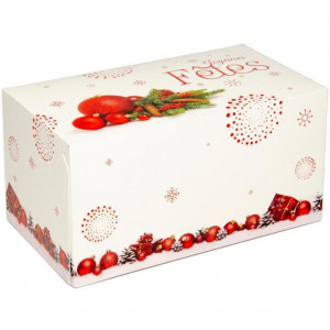 Boîte à Bûche Tradition 25x11,5cm (x25)