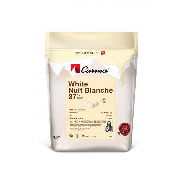 Chocolat Blanc Nuit Blanche 37% 1,5kg Carma