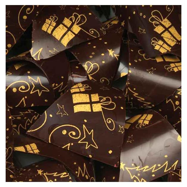 Feuille Transfert Chocolat Cadeaux 250x400 mm (x3) Florensuc