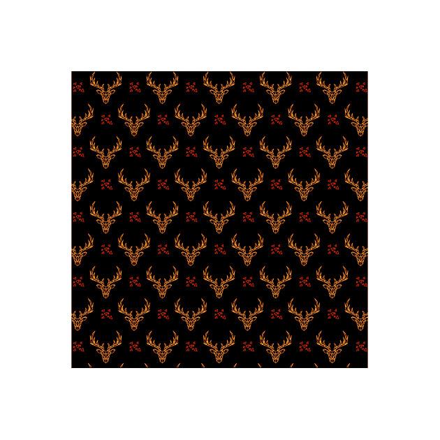 Feuille Transfert Chocolat Cerf 250x400 mm (x3) Florensuc