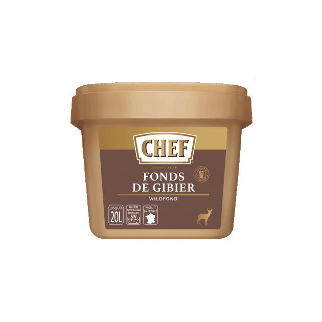 Fonds de Gibier 20L 500g Chef