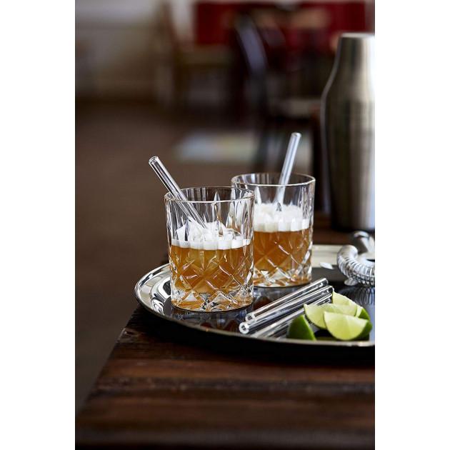 Pailles Réutilisables 15cm idéales pour tumbler, verre de spiritueux