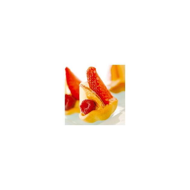 Realisation avec la toile de cuisson Silform Tartelette
