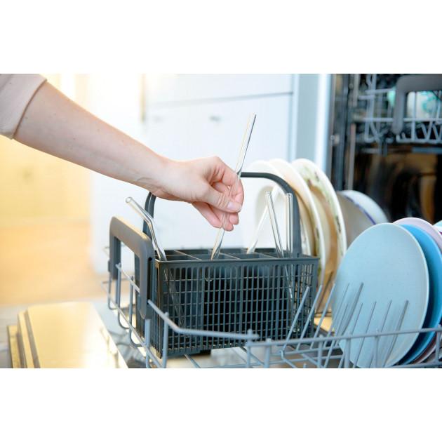 Pailles réutilisables compatibles lave vaisselle