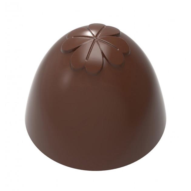 Moule Chocolat Truffe Américaine Trèfle 26,5 mm (x24) Chocolate World