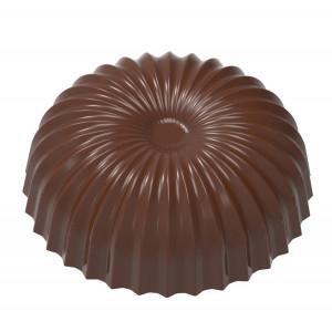 Moule Chocolat Demi Sphère Plissée Evasée 30,5 mm (x21) Chocolate World