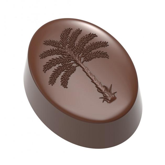 Moule Chocolat Praline Palmier 35 mm (x21) Chocolate World