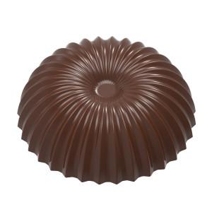 Moule Chocolat Demi Sphère Plissée Evasée 46,5 mm (x10) Chocolate World