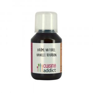 Arôme Alimentaire Naturel Vanille Bourbon 200 g 115 ml Cuisineaddict
