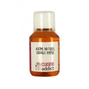 Arôme alimentaire Naturel Orange Amère 115ml Cuisineaddict