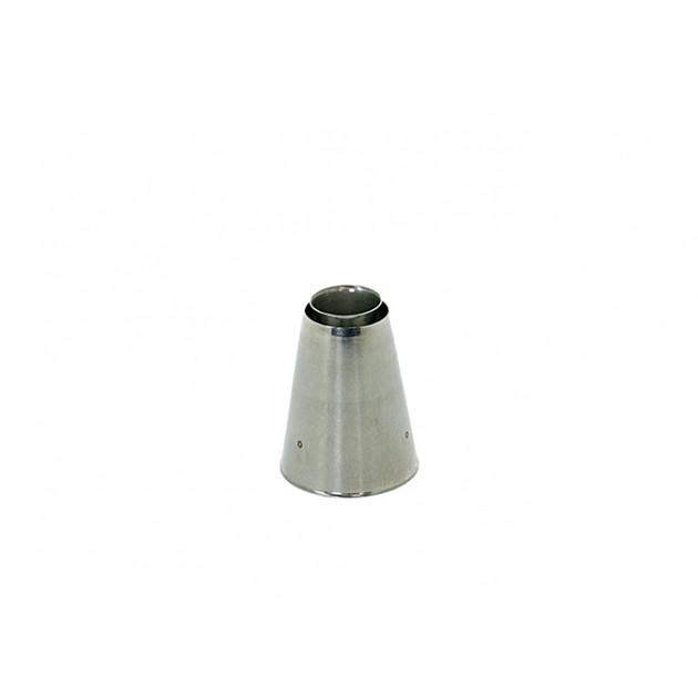 Douille Inox Sultane Lisse cône sortant Ø 2,5 cm De Buyer