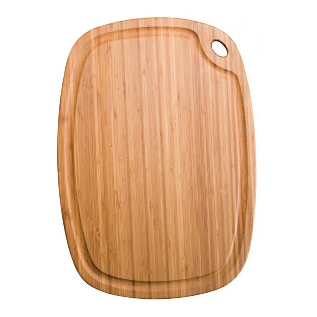 Planche a Decouper Greenlite avec Rigole 52 x 37 cm Totally Bamboo