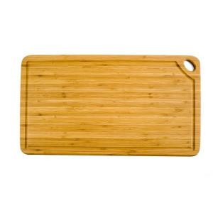 FIN DE SERIE Planche à Découper Rectangulaire Greenlite avec Rigole 50 x 27,5 cm Totally Bamboo