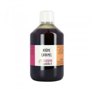 Arôme Alimentaire Caramel 500ml Cuisineaddict