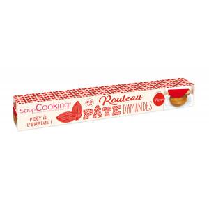 FIN DE SERIE Pâte d'Amande Rouge en Rouleau ⌀ 36 cm 300g Scrapcooking