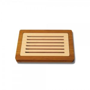 Planche à Pain avec Récupérateur de Miettes 37 x 24 cm Totally Bamboo