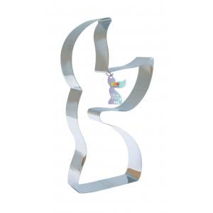 Cercle à Pâtisserie Inox Sirène XXL 35 x 21 cm Scrapcooking