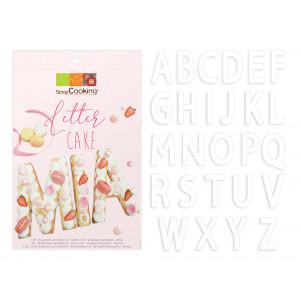 Kit Letter Cake 26 Lettres Scrapcooking