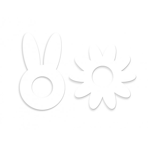 Gabarits Flower Cake et Bunny Cake Scpracooking