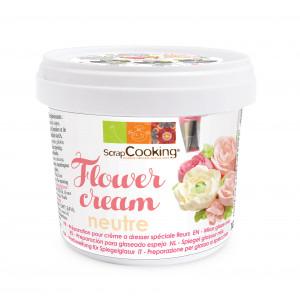 Crème à Dresser Spéciale Fleurs Neutre 170g Scrapcooking
