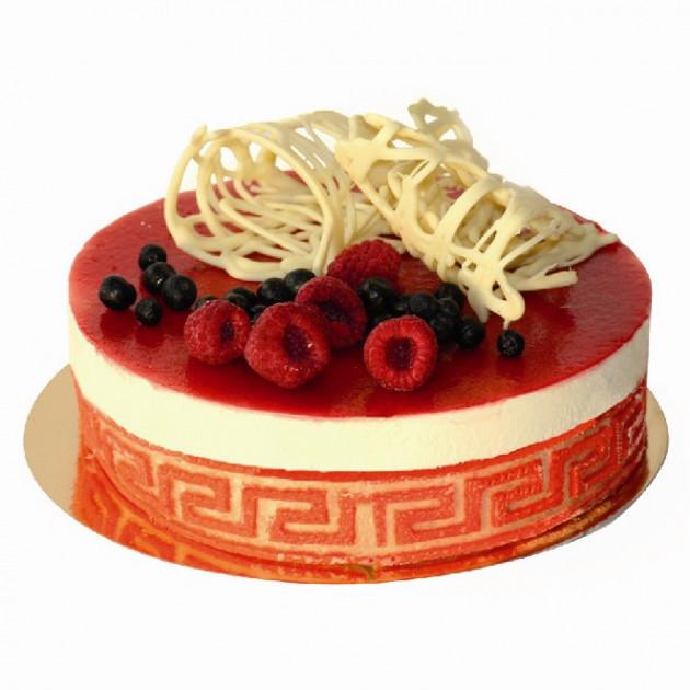 Gâteau réalisé avec un cercle à mousse