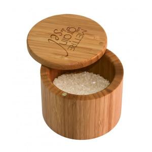 Boîte à Sel Magnétique en Bambou Totally Bamboo