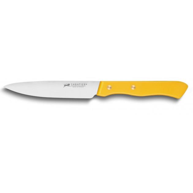 Couteau d'Office 10 cm Sabatier Jaune