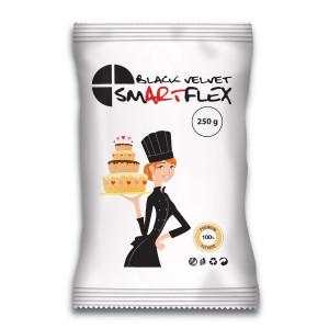 Pâte à Sucre Noir Black Velvet 250g Smartflex