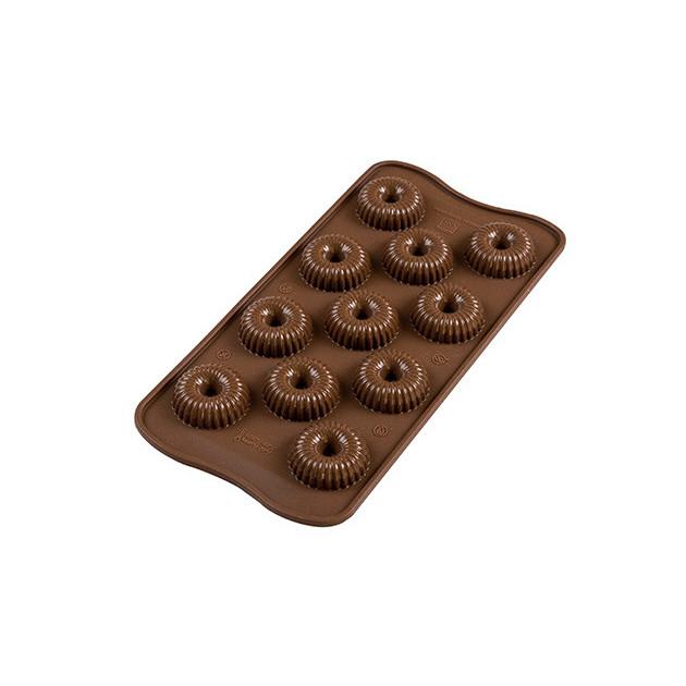 Moule à Chocolat 11 Couronnes Easy Choc - Silicone Spécial Chocolat