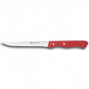 Couteau à Steak Cranté 11,5 cm Sabatier Rouge
