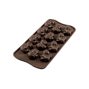 Moule à Chocolat 12 Anges Easy Choc - Silicone Spécial Chocolat