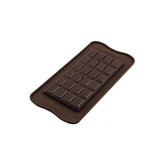 Moule à Chocolat Tablette Classique Easy Choc - Silicone Spécial Chocolat