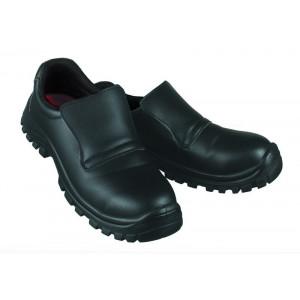 Chaussures de Cuisine T.45 Noir BONIX Robur