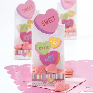 Sachets Surprise Sweet Couleurs Pastel (x6) Wilton