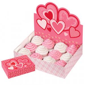 FIN DE SERIE Boîte Présentoir à Cupcakes Saint Valentin Wilton