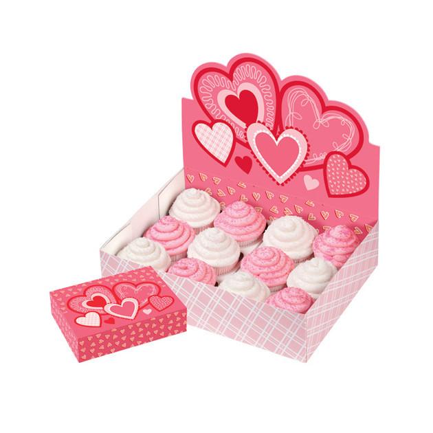 FIN DE SERIE Boîte Presentoir a Cupcakes Saint Valentin Wilton