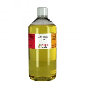 Arôme Alimentaire Naturel Citron 1 L Cuisineaddict