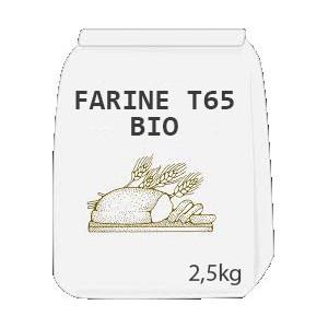 Farine T65 Bio 2,5 kg