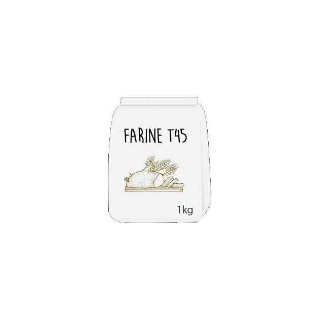 Farine T45 Blé Rouge 1kg